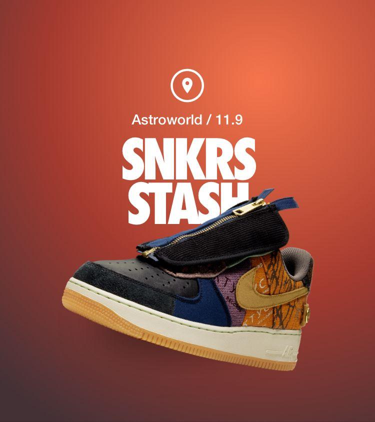 Air Force 1 'Cactus Jack'. Nike SNKRS