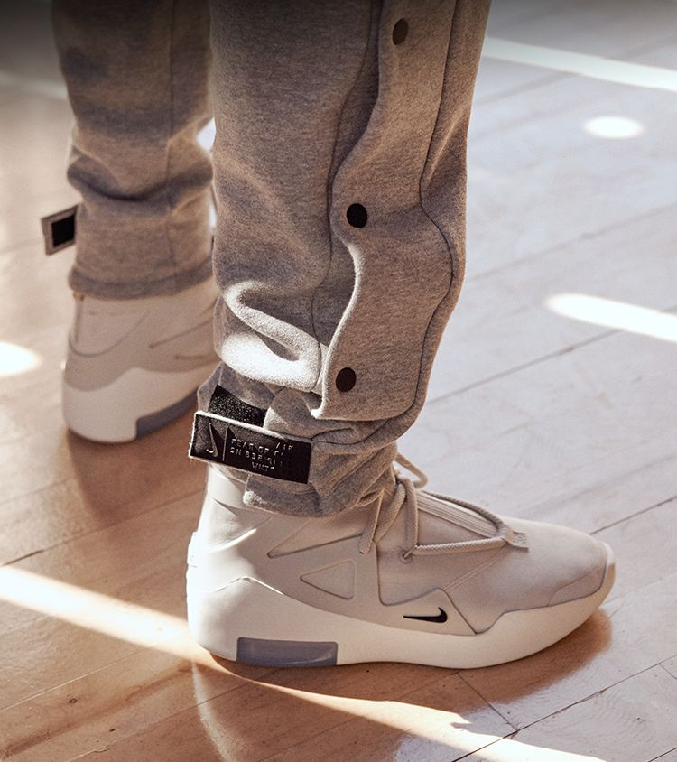 Nike Air Fear of God 1 'Light Bone & Black' Release Date