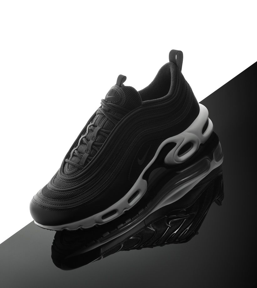 detailed look ad49a a02d2 Nike Air Max 97 Plus 'Black & White' Release Date. Nike+ SNKRS