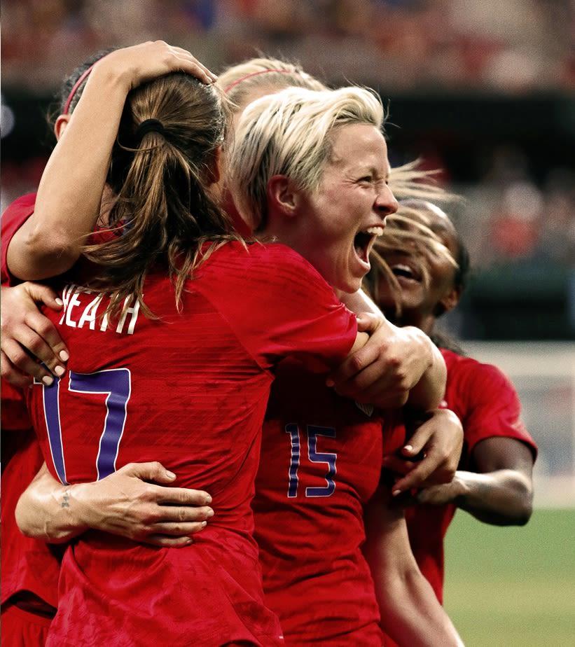 7f895f22b73b2 U.S. Women's National Team wins it all