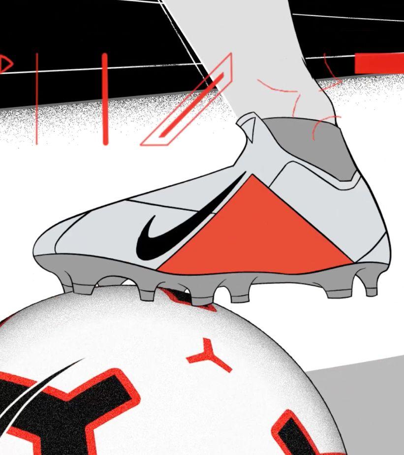 6334b83e05 Innovación de las PhantomVSN: Flyknit texturizado.. Nike.com ES