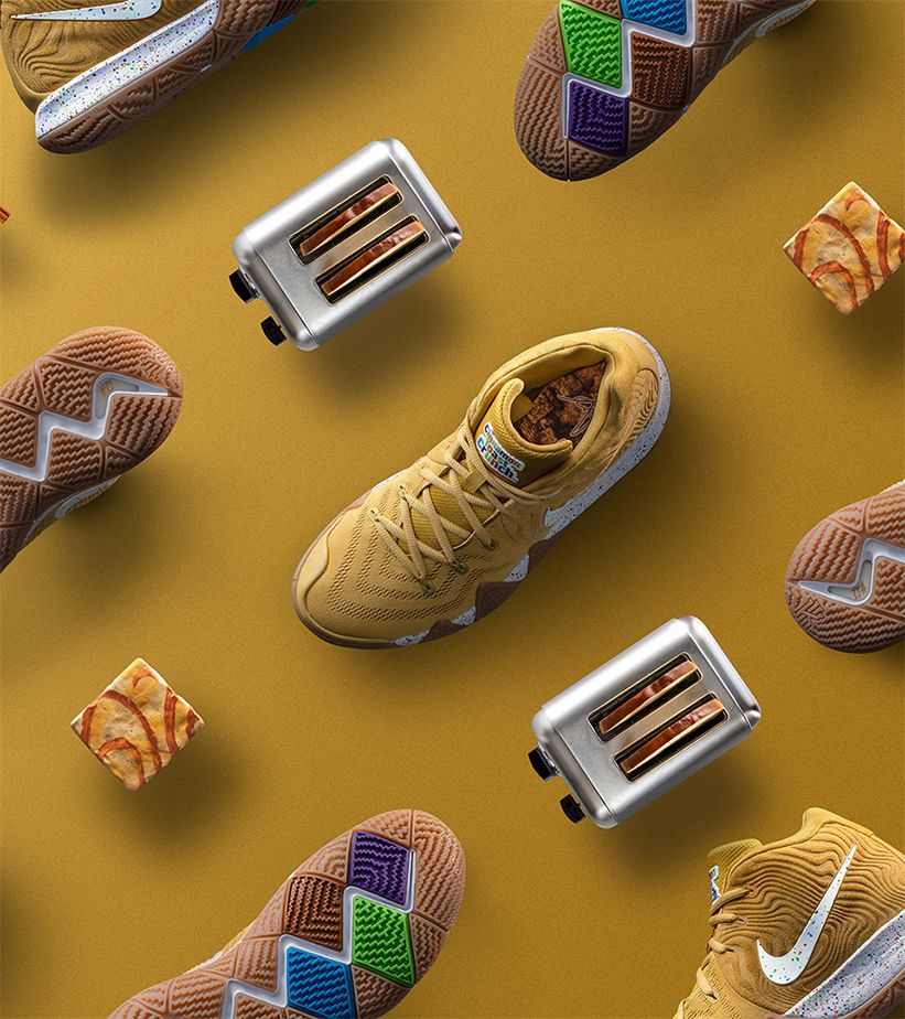 huge discount 91998 59ea2 Behind The Design: Kyrie 4 'Cinnamon Toast Crunch'. Nike⁠+ SNKRS