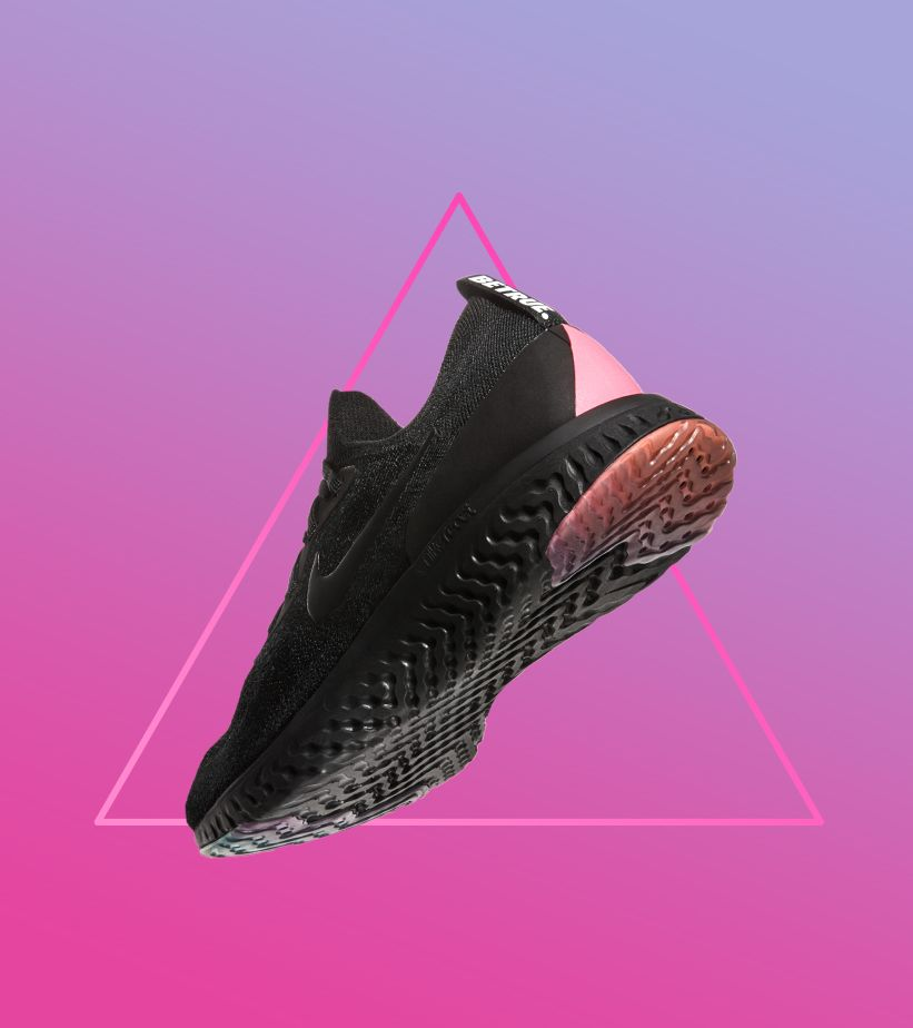 Nike Epic React Flyknit Betrue 'Black