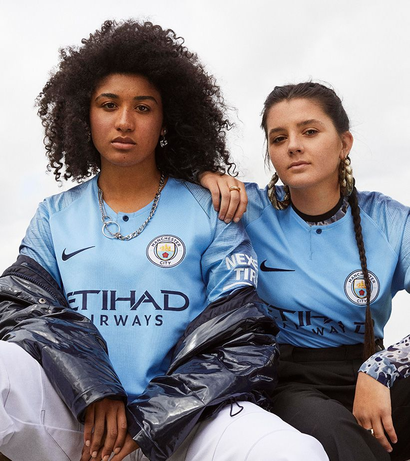 2018/19 MANCHESTER CITY STADIUM HOME KIT