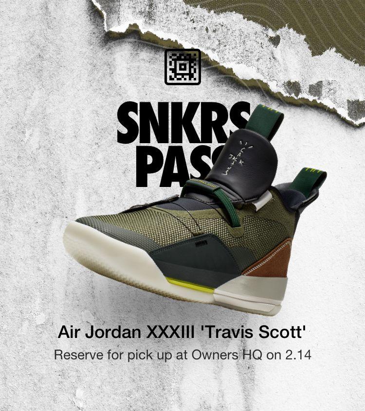 Air Jordan XXXIII 'Travis Scott' Owners