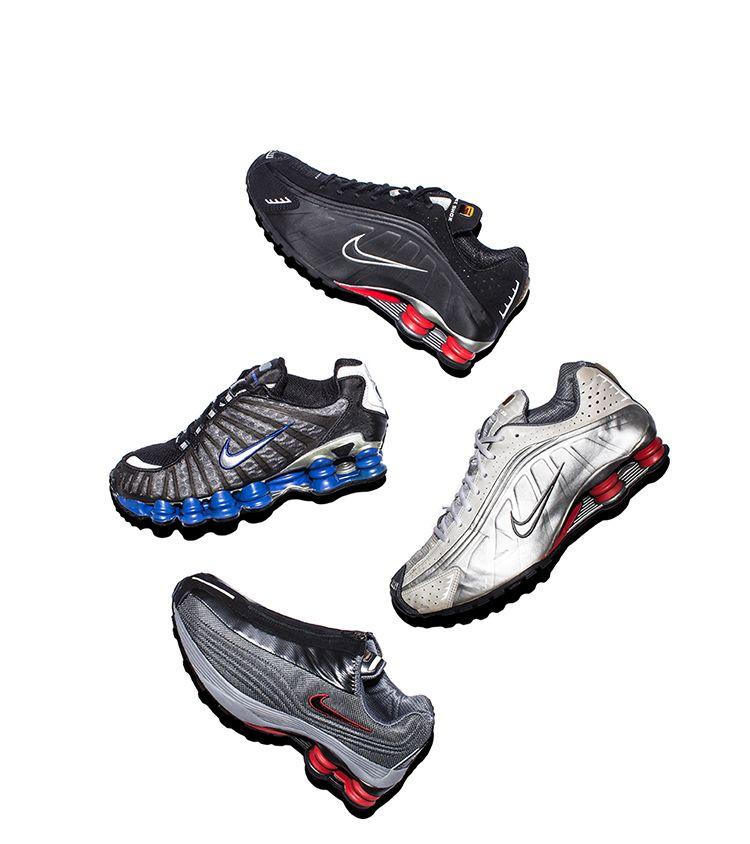 Dans les archives : chaussures de running Shox. Nike SNKRS FR