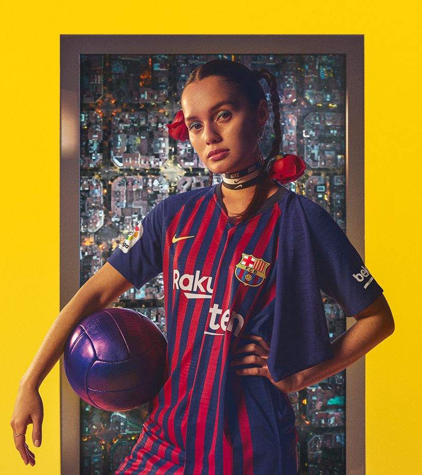 Kit De Local Stadium Del FC Barcelona 2018/19