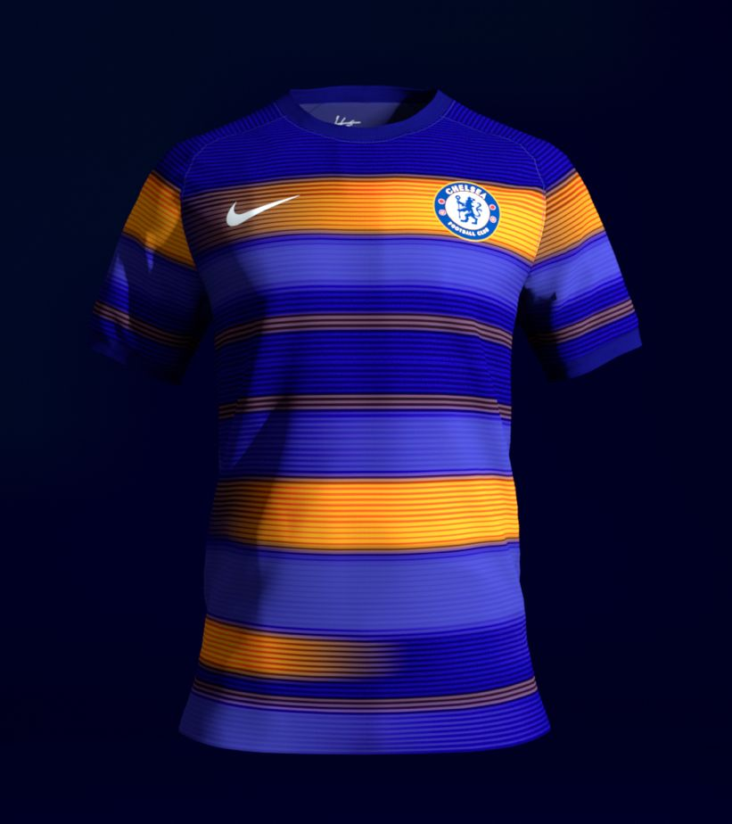 Chelsea Connect Shirt Reveal. Nike.com GB 9338f7a40