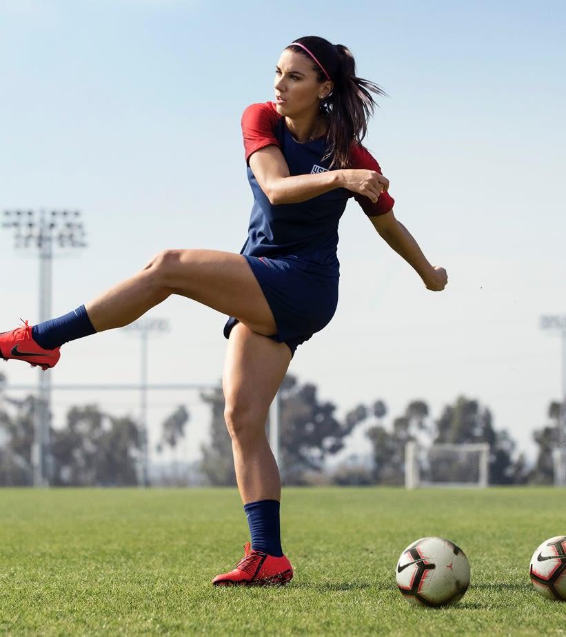 Training Unlocked With Alex Morgan Nike Com