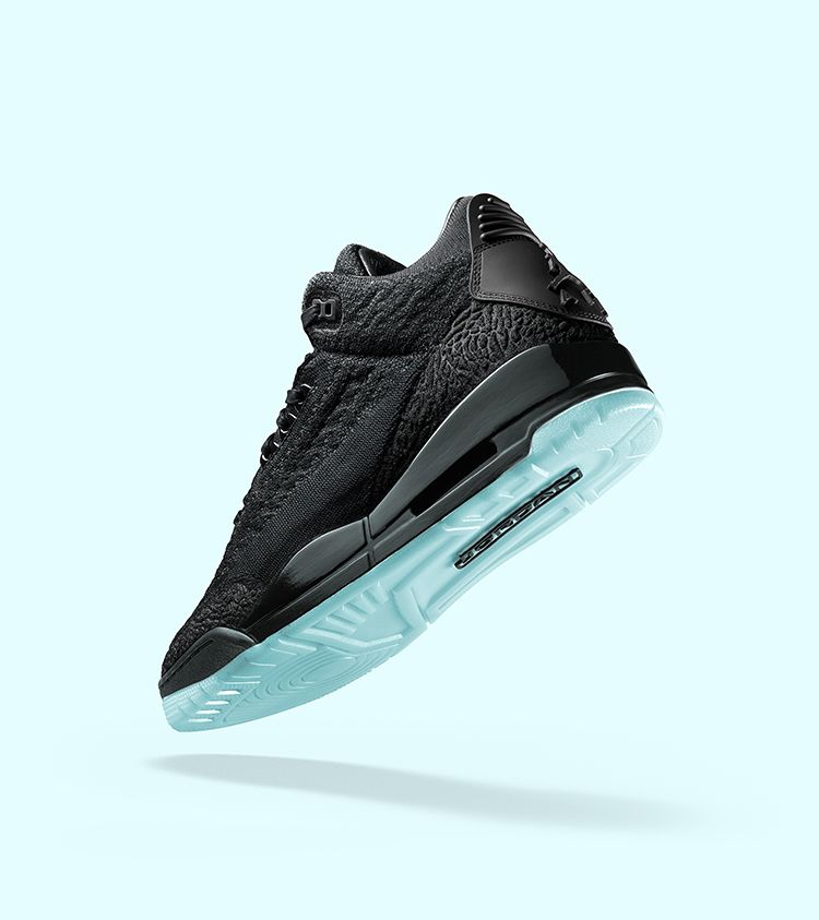 cheap for discount de5a8 062b5 Air Jordan 3 Flyknit 'Black & Anthracite' Release Date ...