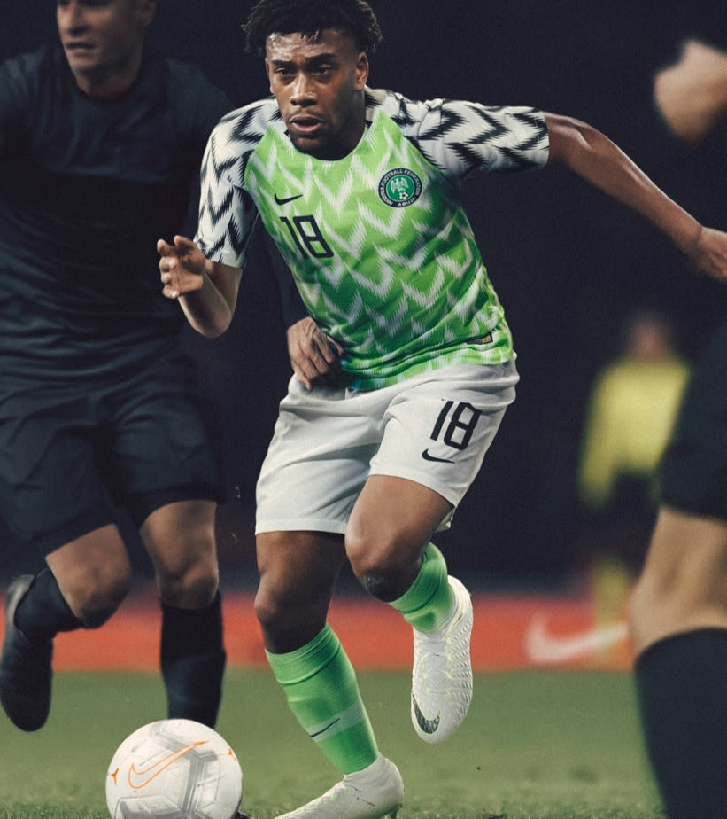 646bee944d3 2018 Nigeria Stadium Home Kit