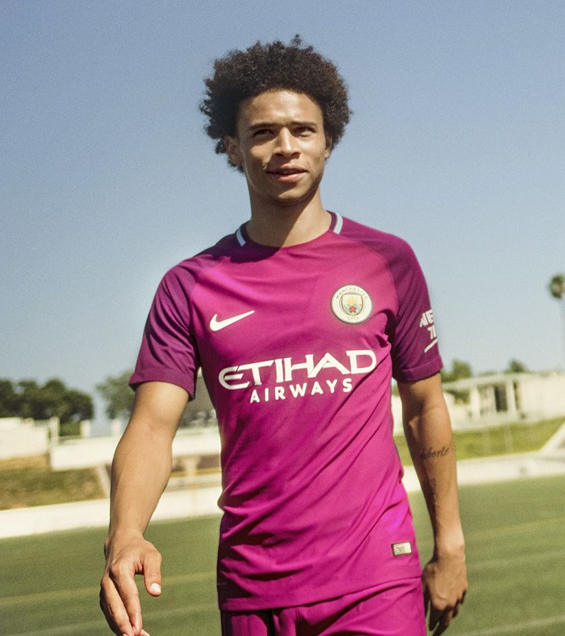 2017/18 Manchester City Stadium Away Kit