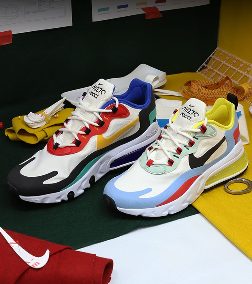 Behind the Design: Nike Air Max 270 React. Nike SNKRS