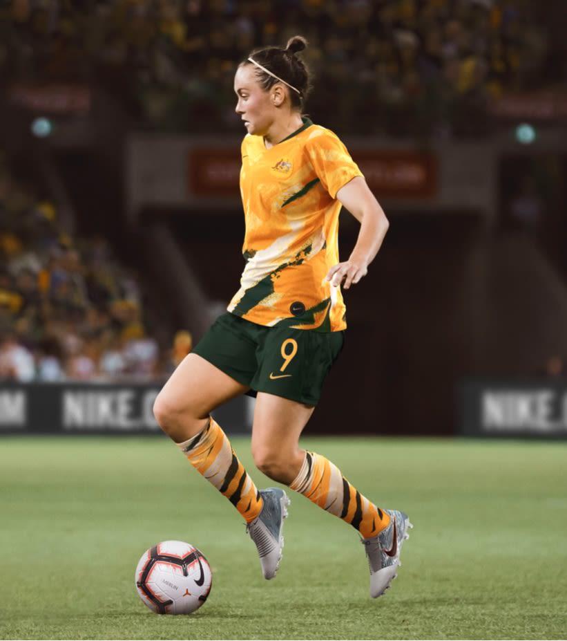b8e6711eb 2019 Stadium Home Jersey. Australia Women s National Team