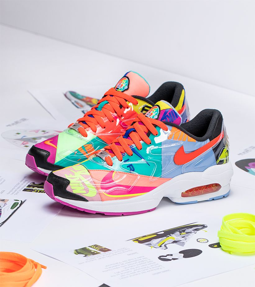 online store e3b70 1fab3 Behind the Design atmos x Nike Air Max2 Light