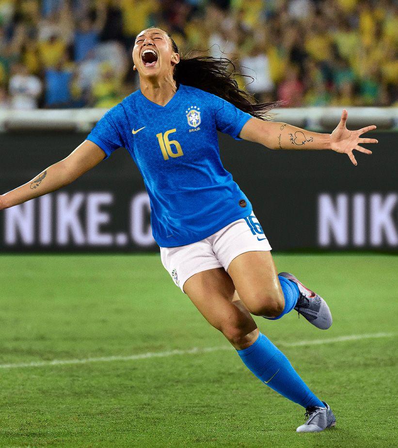 809393e7a 2019 Brasil Women s National Team Jersey