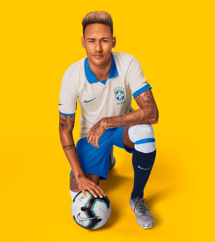 514e7ff447c 2019 Stadium Away Jersey. Brazil National Team