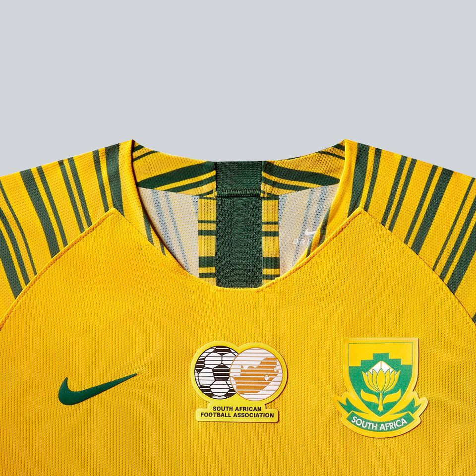 South Africa Women's Football Federation 2019 Stadium Home Jersey