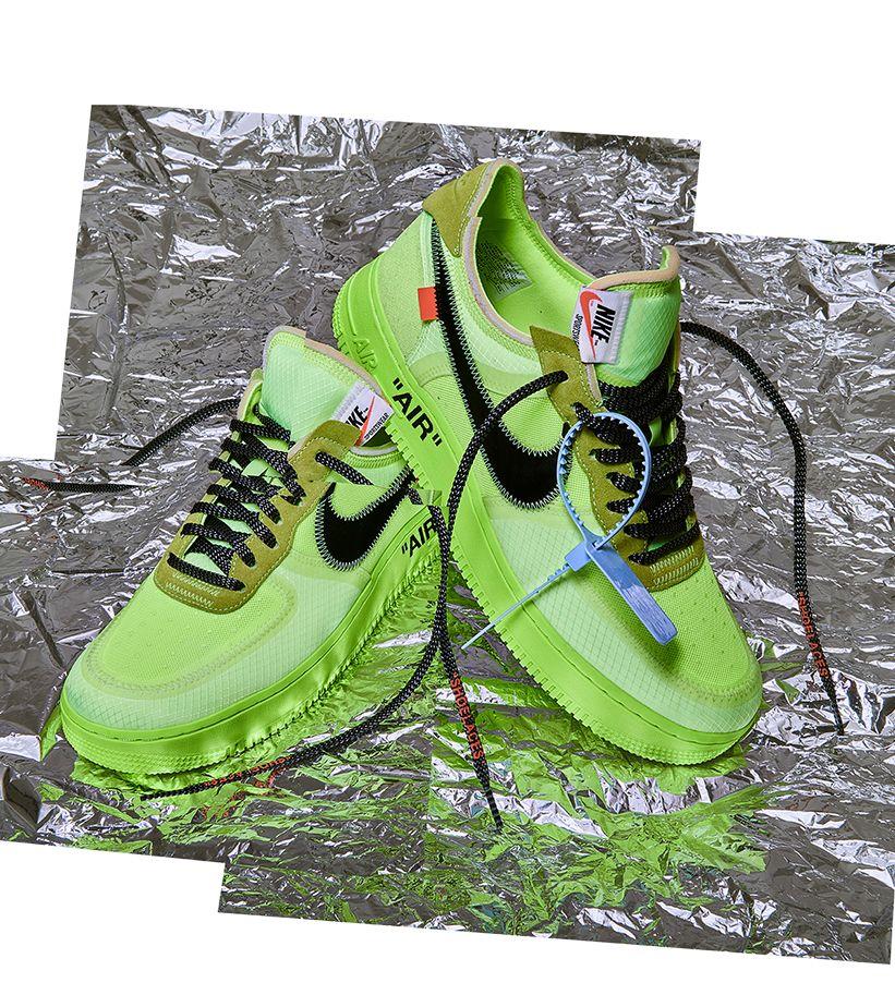 The Ten: Nike Air Force 1 Low 'Volt & Black & Hyper Jade' Release Date