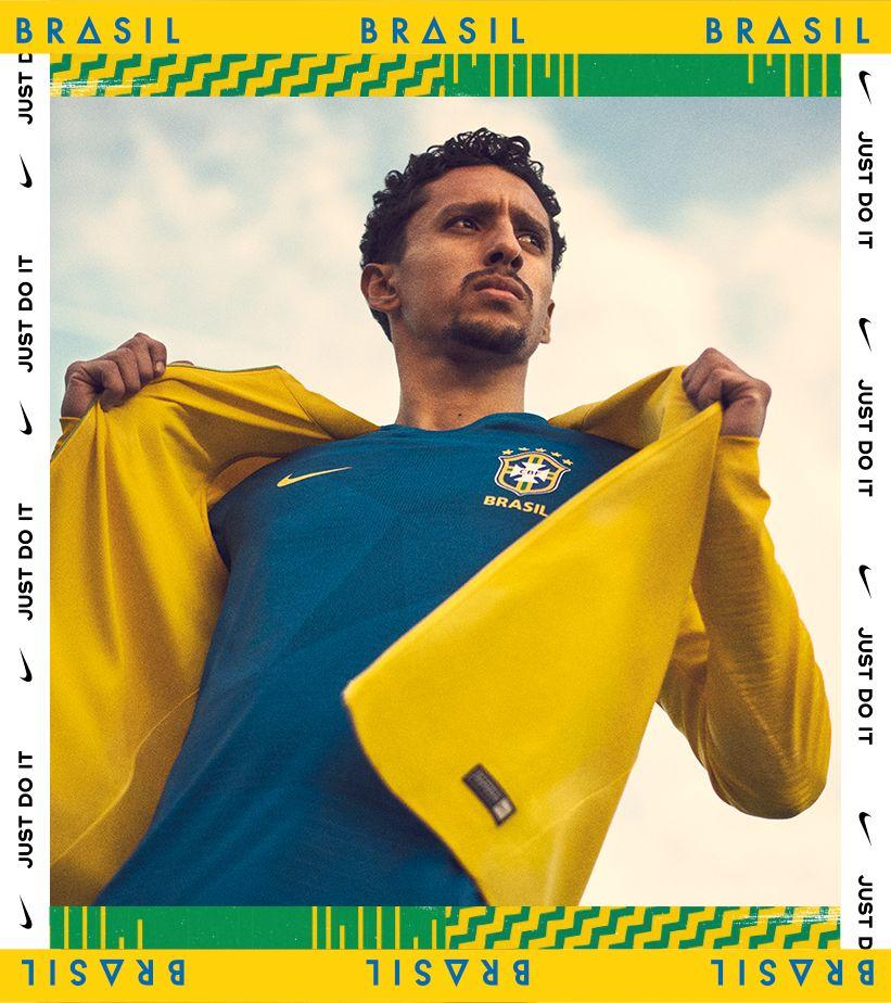 2018 ブラジル スタジアム アウェイ キット