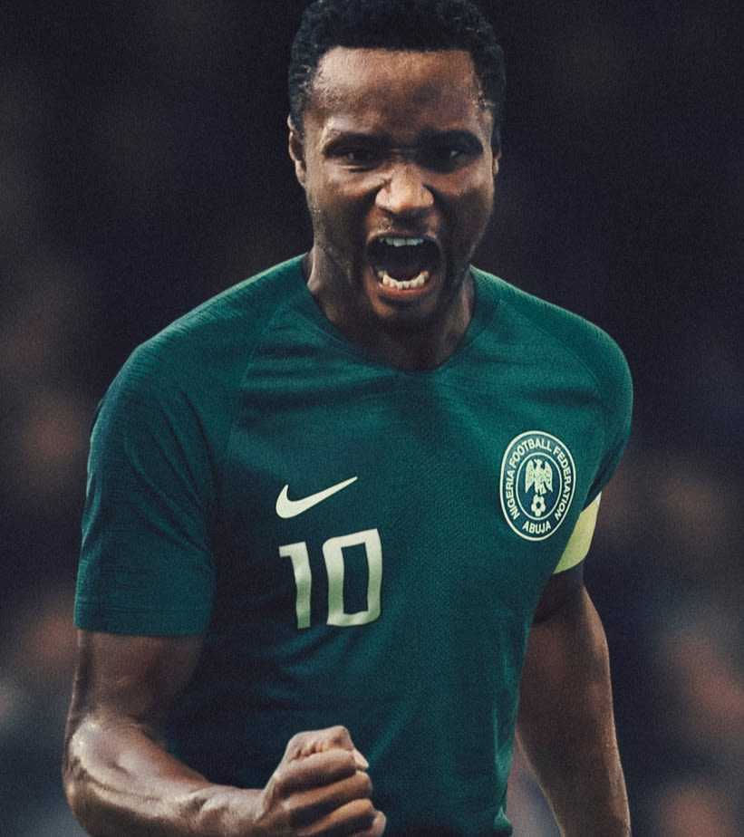 2018 Nigeria Stadium Away Kit