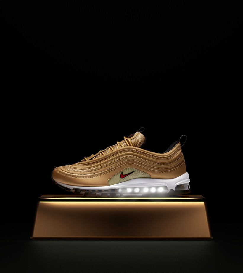 Nike Air Max 97 OG QS 'Metallic Gold' Release Date