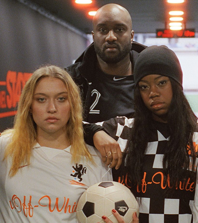 "Fotbollströjor Nike x Off White ""Football, Mon Amour"""