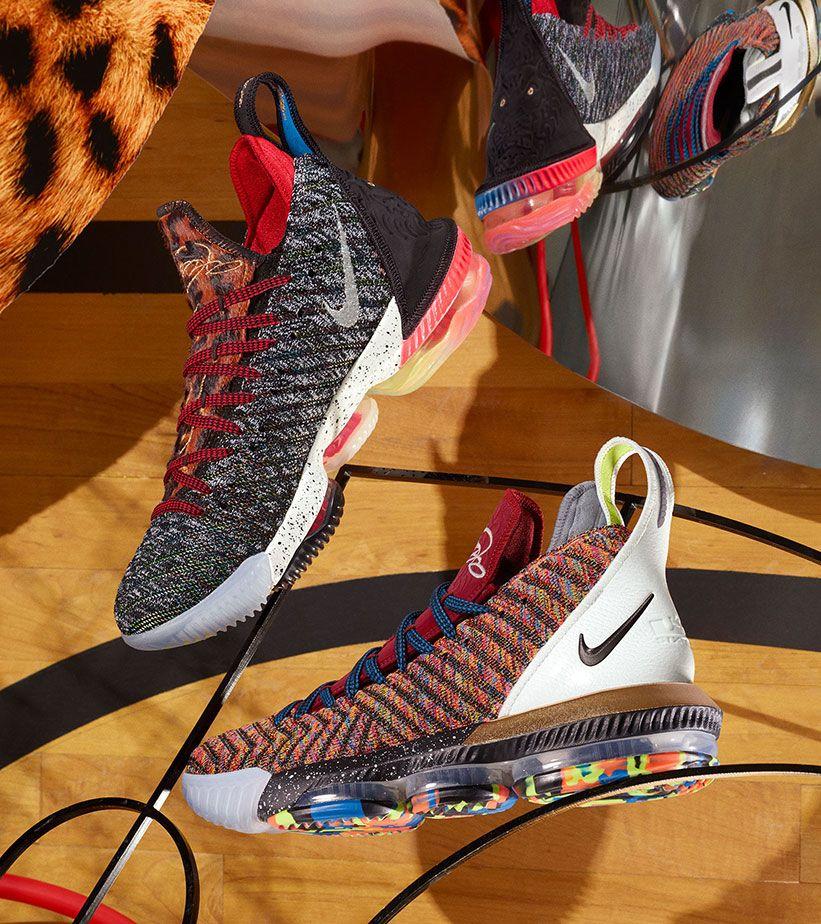 free shipping 59b79 b7ab3 Nike LeBron 16  I Promise  Release Date. Nike+ SNKRS