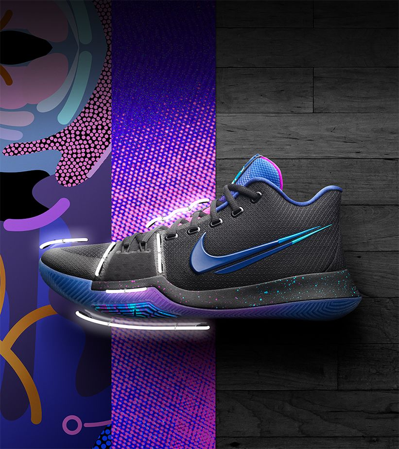 low priced e3440 813d1 Nike Kyrie 3 'Mamba Mentality'. Nike+ SNKRS