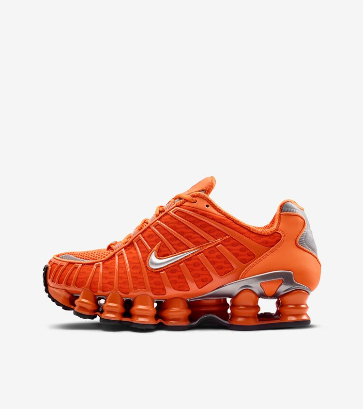 Nike Shox TL 'Clay Orange & Metallic Silver' Release Date.