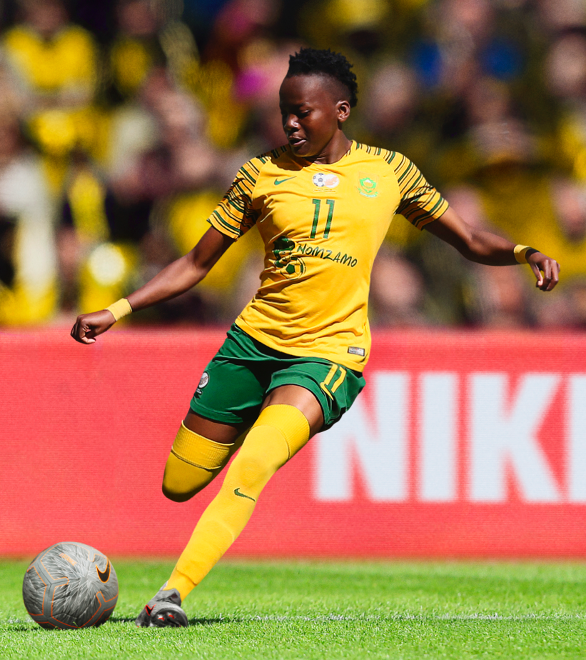 5932575a29a South Africa Women s Football Federation 2019 Stadium Home Jersey