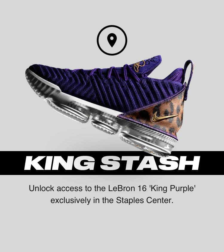 Nike LeBron 16 'King Purple'. Nike SNKRS