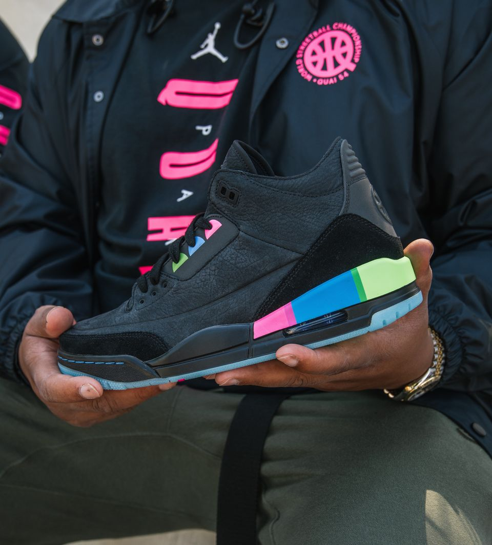 d6fe5533d27c97 Air Jordan 3 Retro  Quai 54  Release Date. Nike+ Launch GB