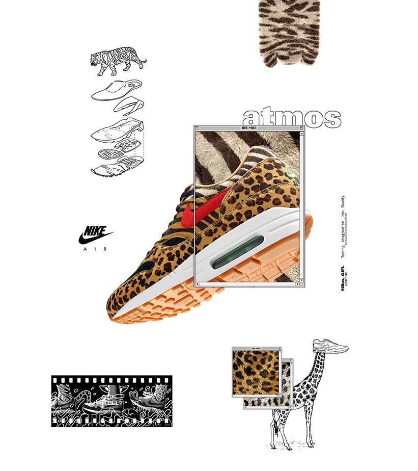 Nike Air Max 1 Atmos 'Animal Pack' 2018 Release Date