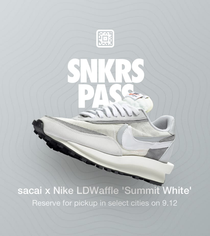 SNKRS Pass: Air Max 90 x Undefeated 'WhiteInfrared' Coney