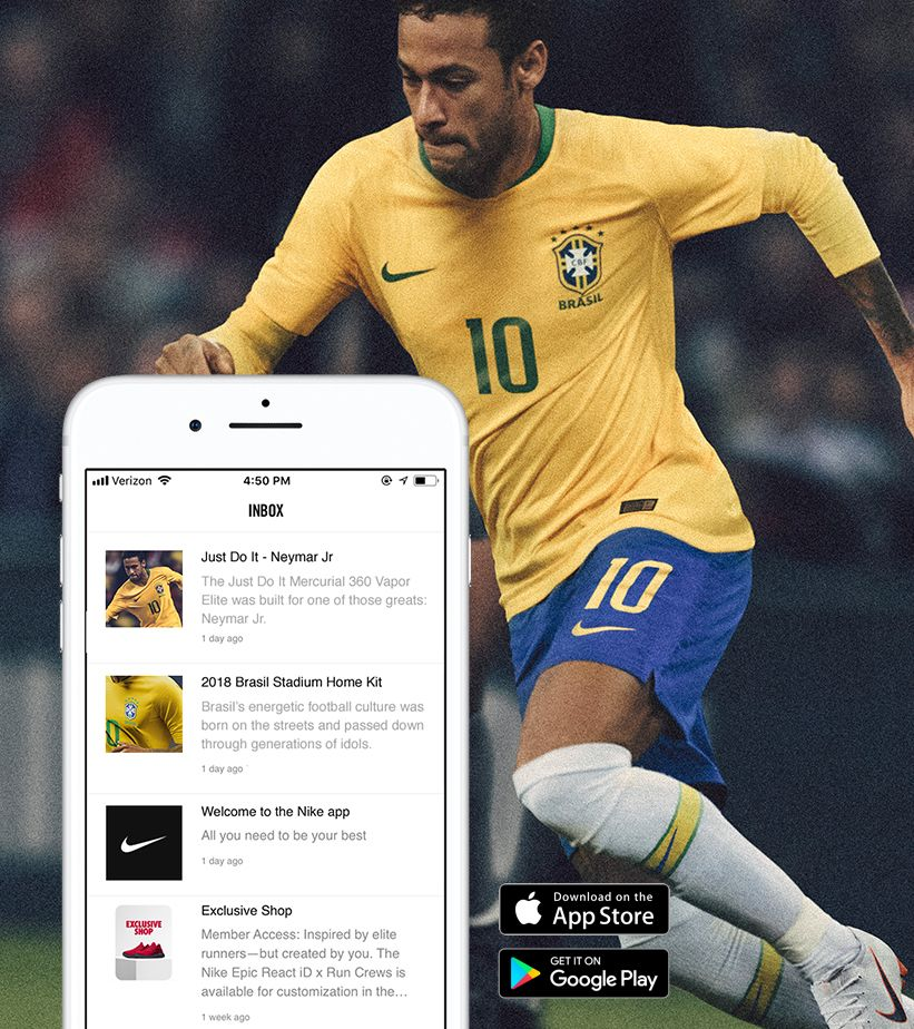 Stay Connected with the Nike App