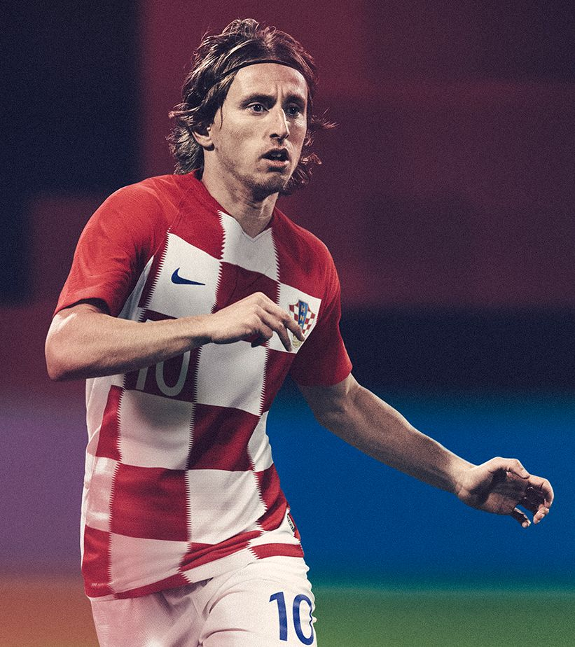 2018 Croatia Stadium Home Kit