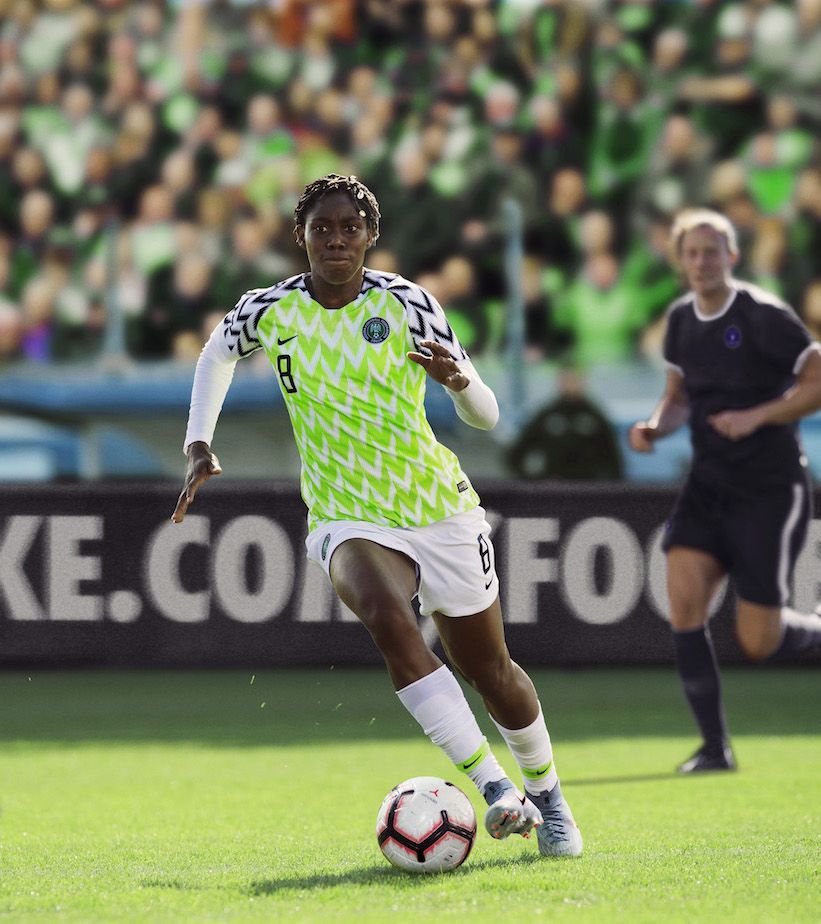 45f06fc13df 2019 Stadium Home Jersey. Nigeria Women's National Team. Sold Out