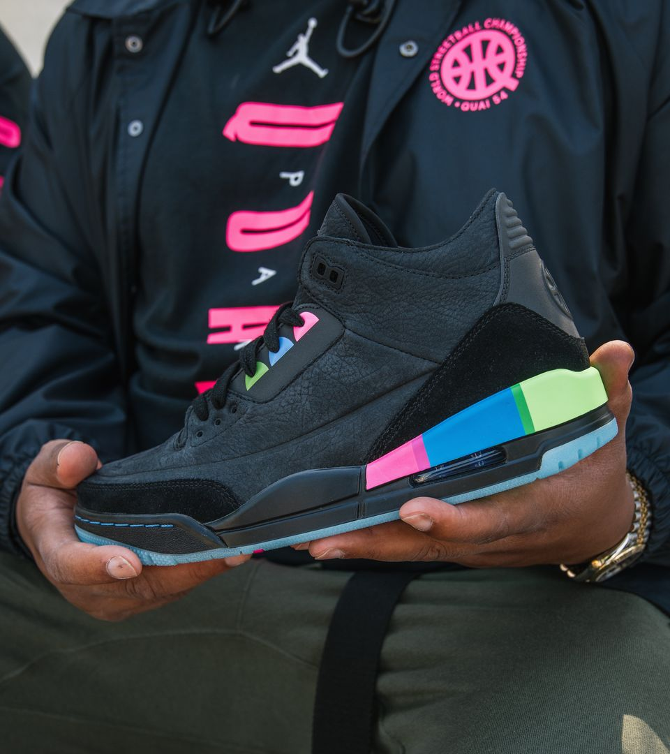 the best attitude df287 6f5bd Air Jordan 3 Retro 'Quai 54' Release Date. Nike⁠+ Launch GB
