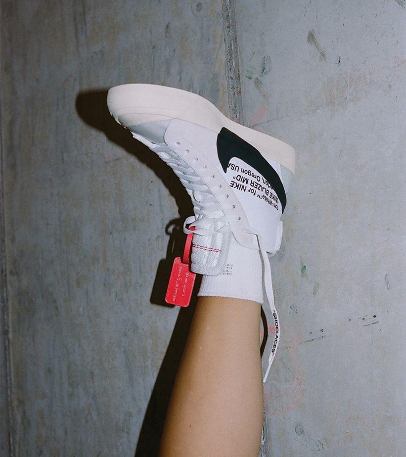 Nike The Ten SB Blazer Mid 'Off White