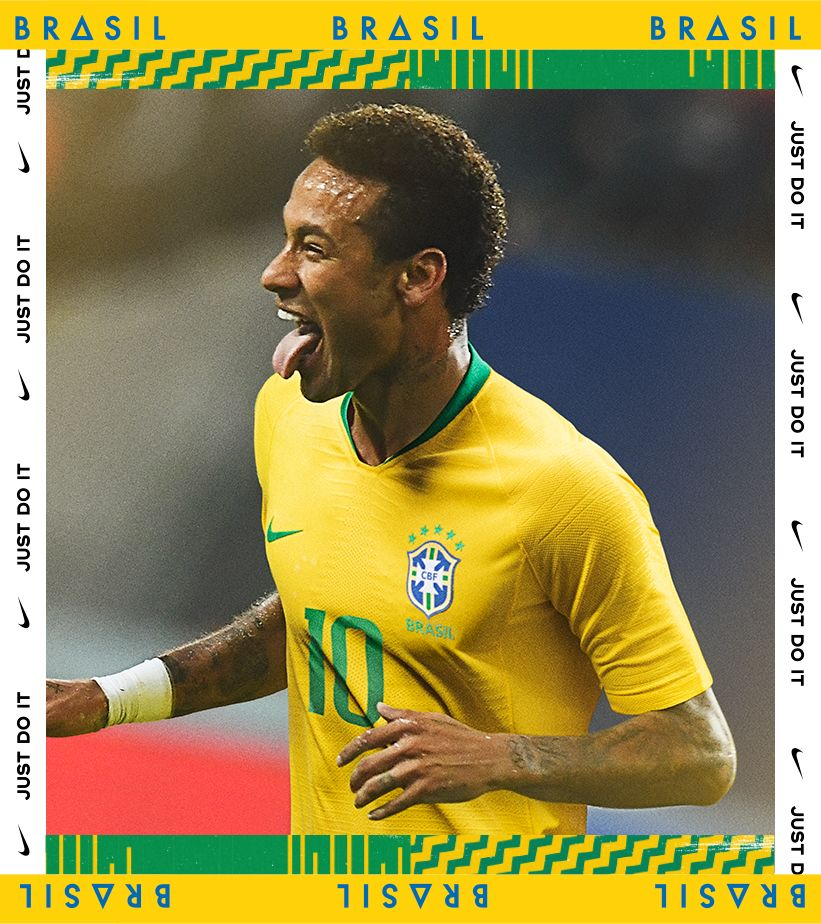 Maillot domicile 2018 Brasil Stadium