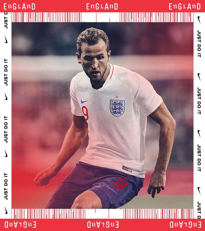 2018 England Stadium Home Kit