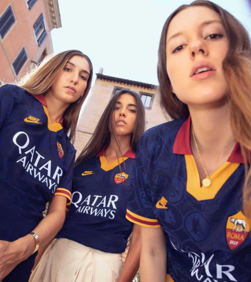2019/20 AS ROMA STADIUM THIRD KIT