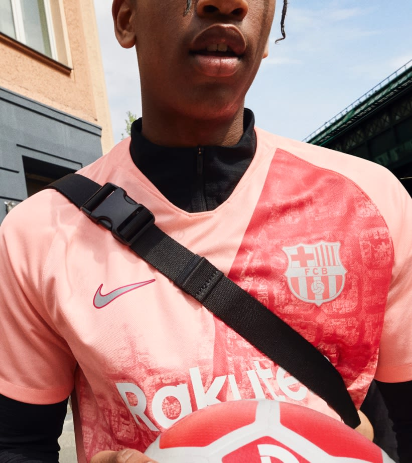 2018/19 FC Barcelona Stadium Third Kit