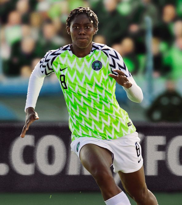 The 2019 Nigeria Women's National Team Away Jersey