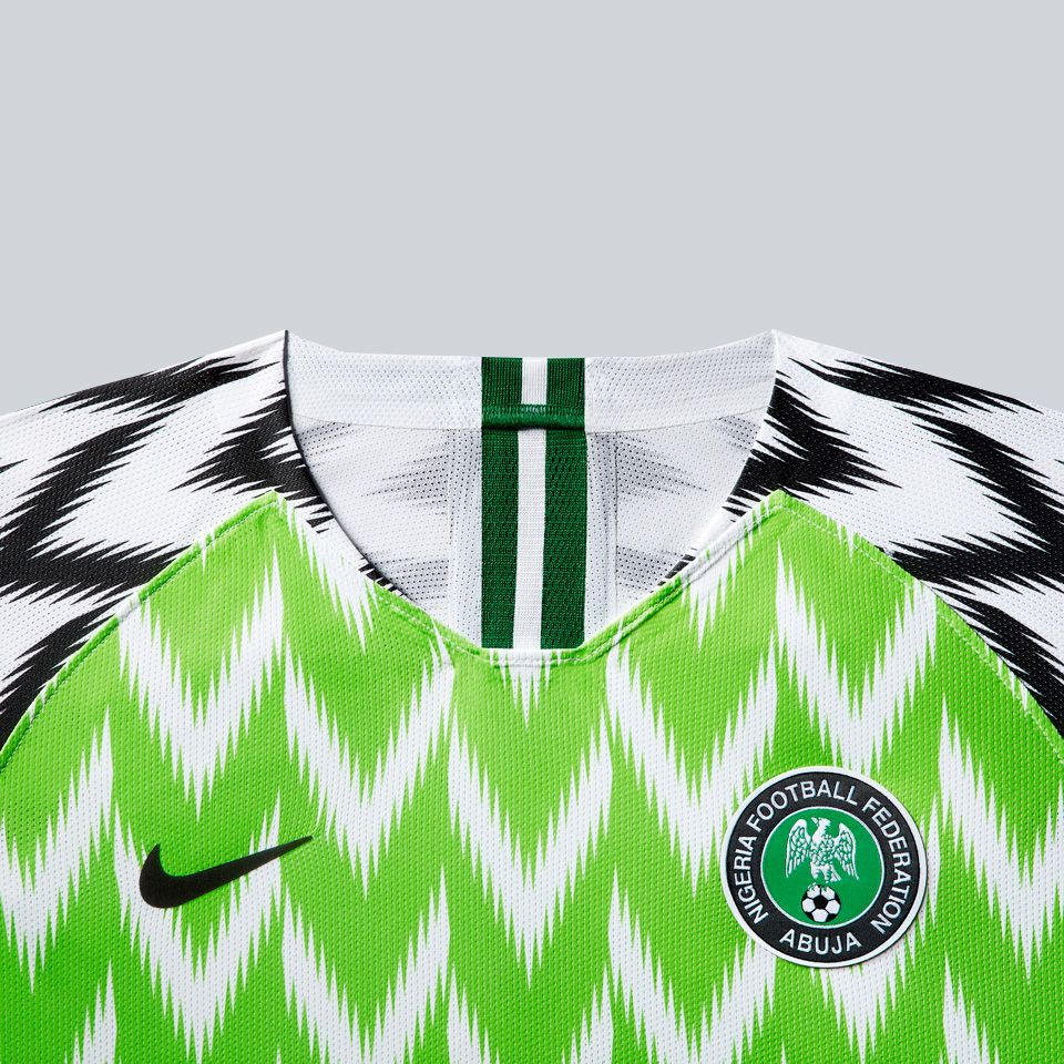 Nigeria Women's Football Federation 2019 Stadium Home Jersey