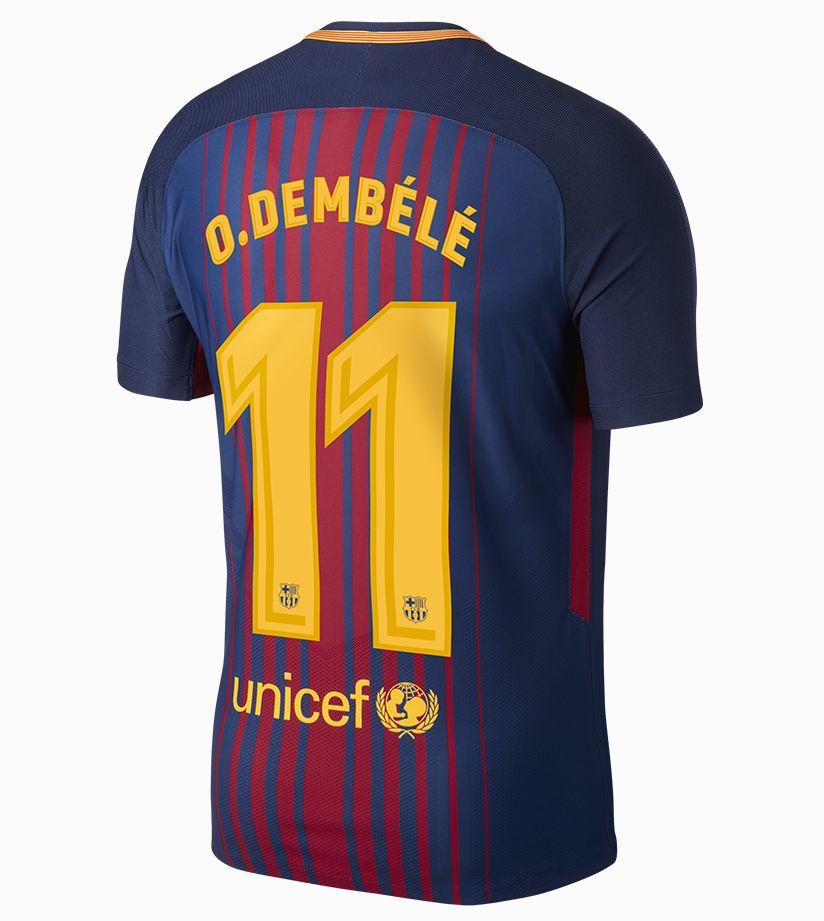 big sale 52598 44eed Dembélé's FC Barcelona Kit. Nike.com SI
