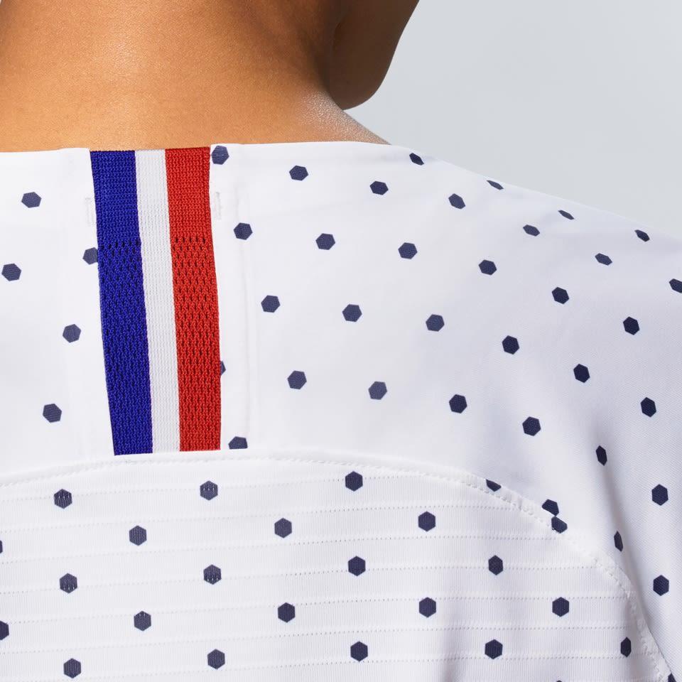 France Women's Football Federation 2019 Stadium Away Jersey