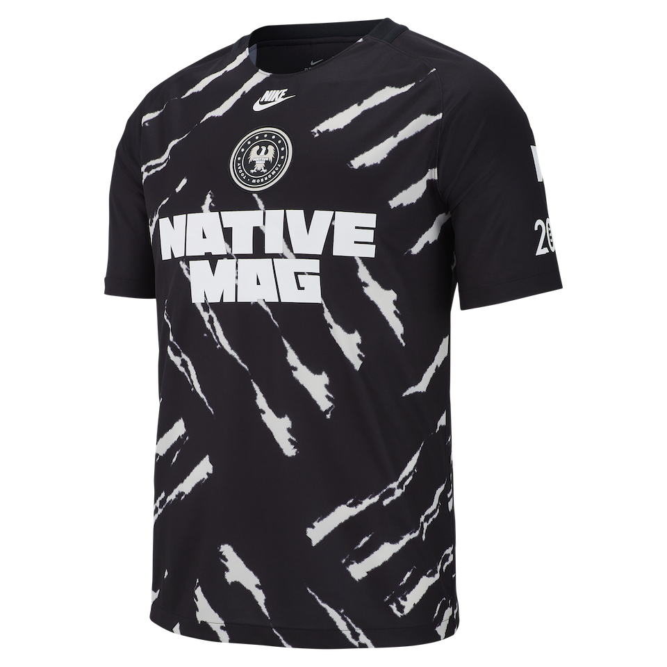 NIKE BY THE NATIVE 2018 ILÉ Limited edition jersey