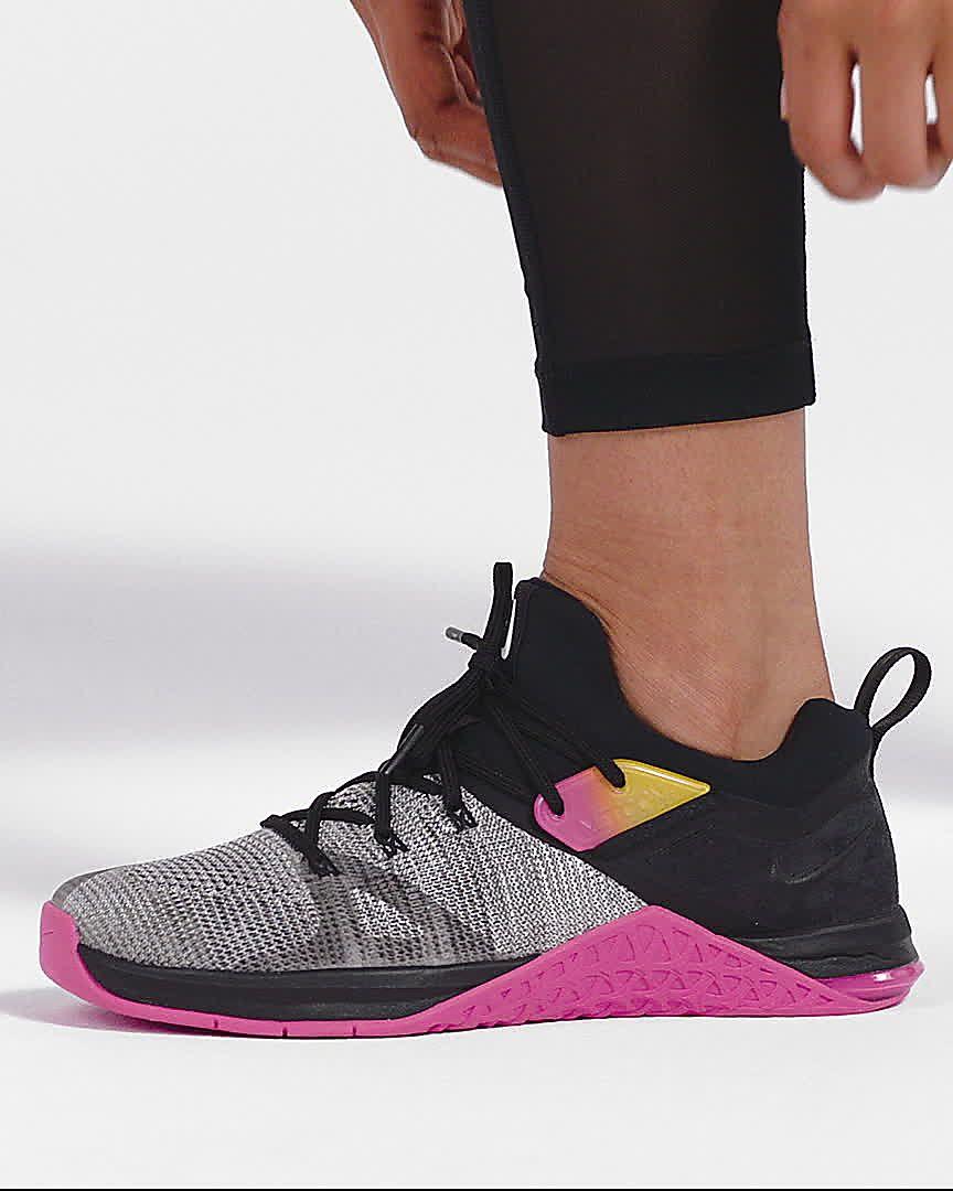 3 Gewichtheberschuh Nike Für Flyknit Crosstrainingamp; Metcon Damen QxrBChtsdo
